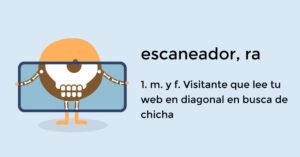 Cómo crear contenido web para retener escaneadores