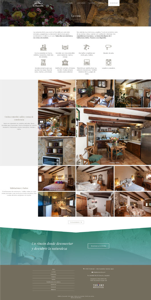 Página La Casa de La Covarxella